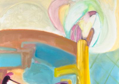 Oreithyla, 2020 Oil on canvas 144 x 102 cm