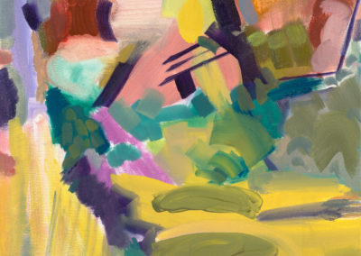 Eilat, 2019 Oil on canvas 43 x 34 cm