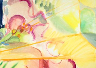 Arthur's Orchard, 2020 Oil on canvas 104 x 88 cm