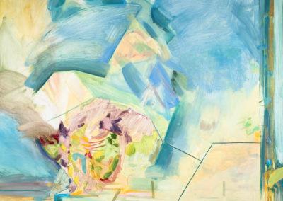 Life of Lorenzo, 2020 Oil on board 123 x 122 cm