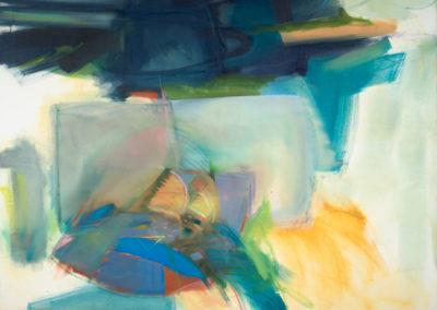 Parrot Steps, 2020 Oil on canvas 131 x 150 cm